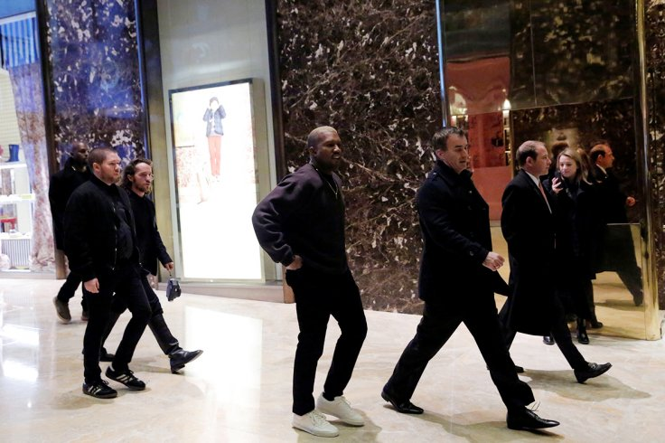 Kanye Trump Tower