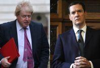 Boris Johnson and George Osborne on Syria