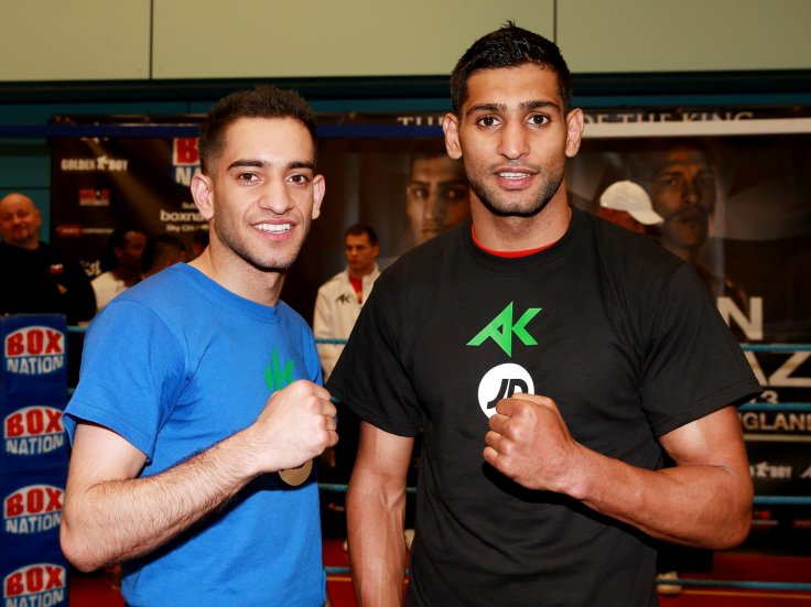 Haroon Khan and Amir Khan