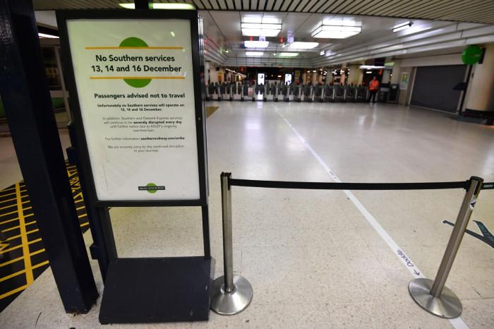 southern rail strikes 2016 unions