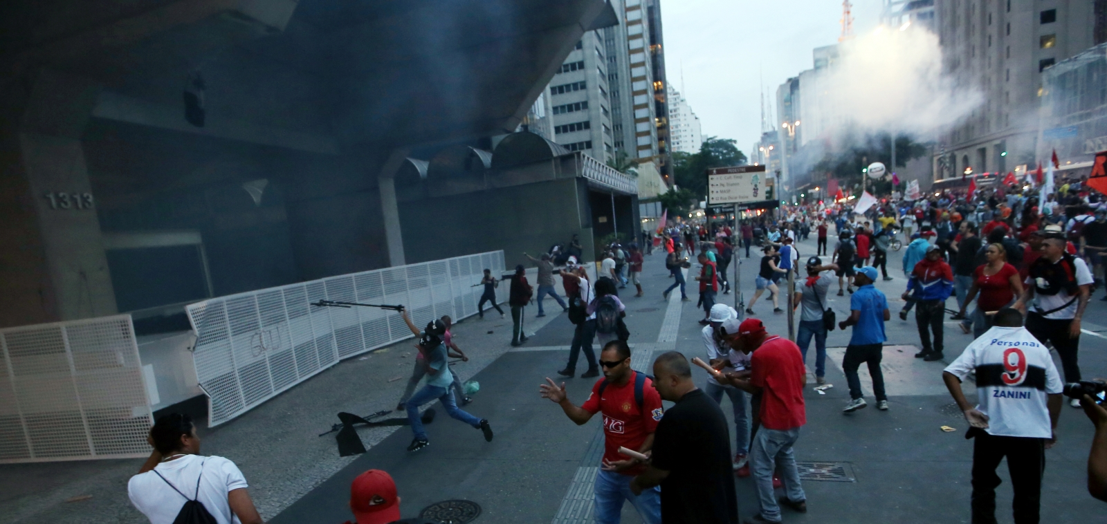Brazil protest, austerity measures