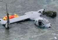 US Marine Corps Osprey aircraft