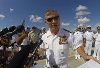 Admiral Harry Harris US pacific fleet