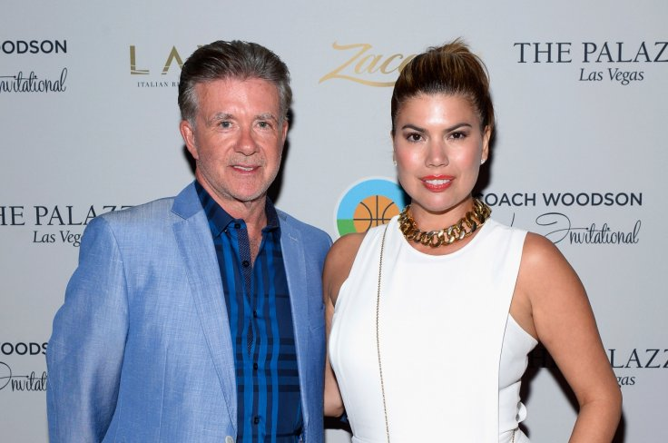 Alan Thicke and wife Tanya Callau