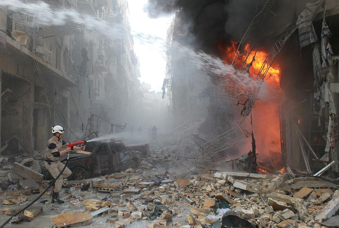 Aleppo timeline