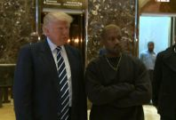 Kanye West And Donald Trump Silent, Ignore Reporters About Trump Tower Meeting