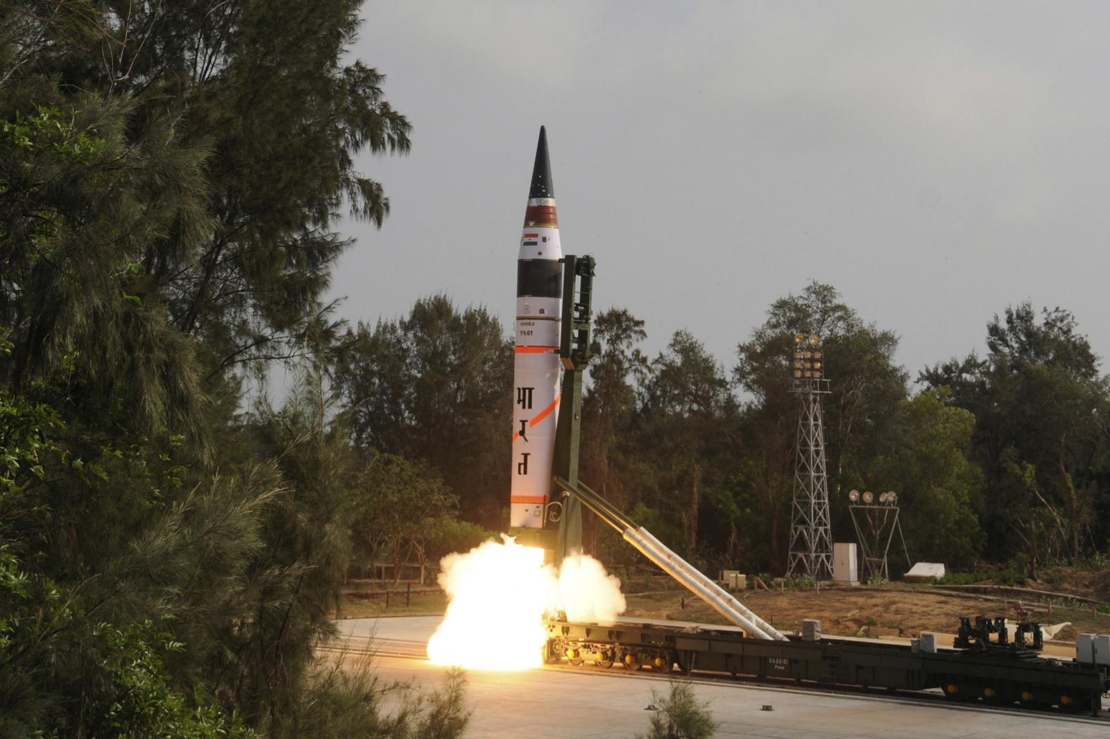 India China missiles
