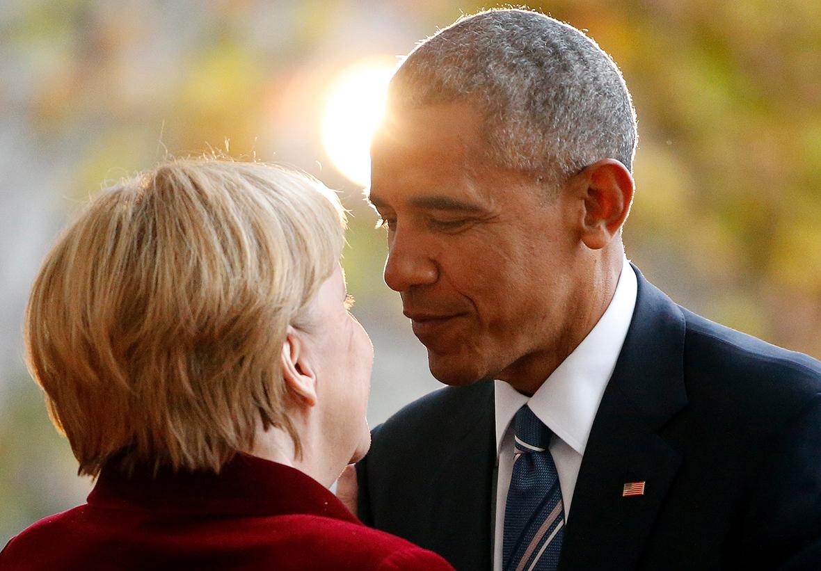 Merkel Obama