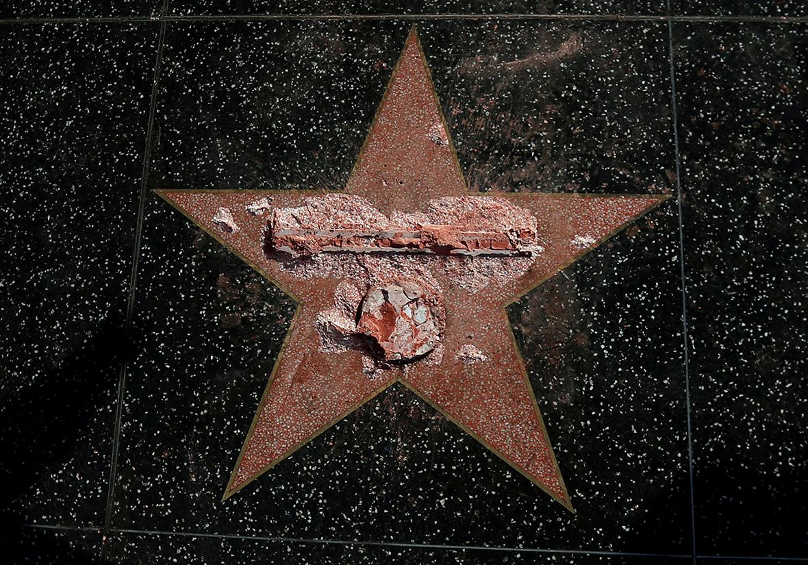 Trump walk of fame