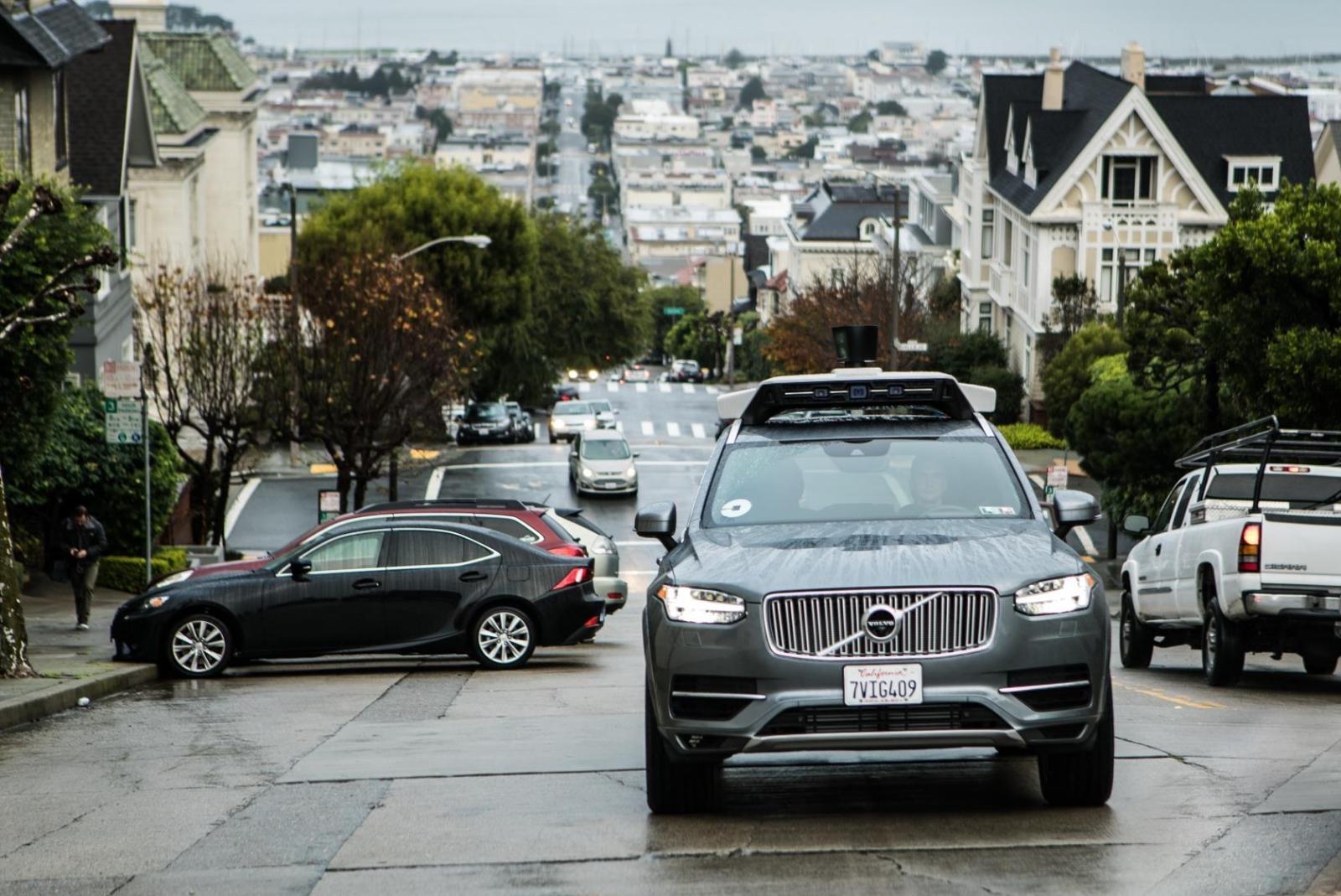 autonomous Uber