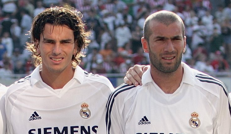 Francisco Pavon and Zinedine Zidane