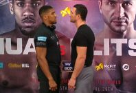 Anthony Joshua says beating Wladimir Klitschko could making him a boxing 'legend'