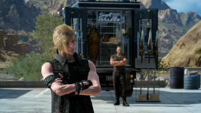 Final Fantasy 15 weapon stores