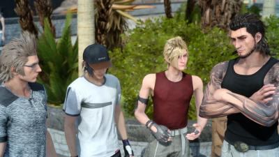 Final Fantasy 15 best boys