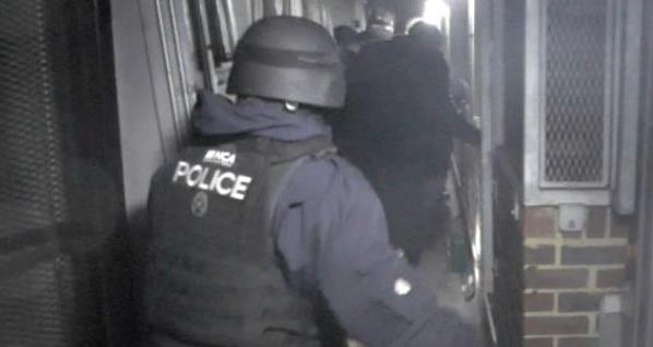NCA drugs raids London Heathrow
