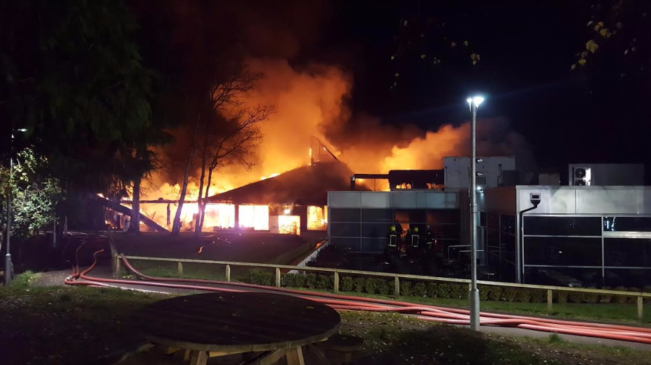'Major' fire at Fleet services leads to partial M3 closure