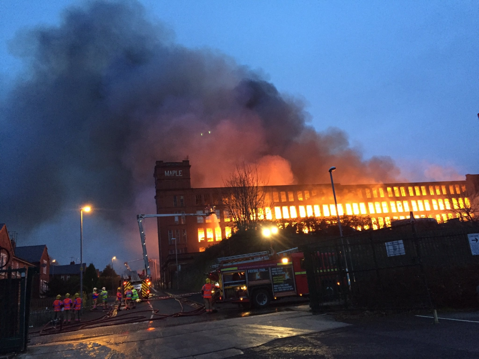 oldham fire