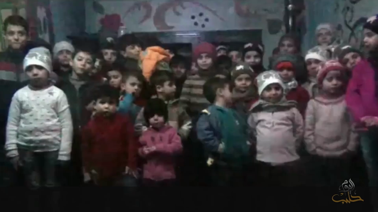 Orphan children trapped in Aleppo plead to leave