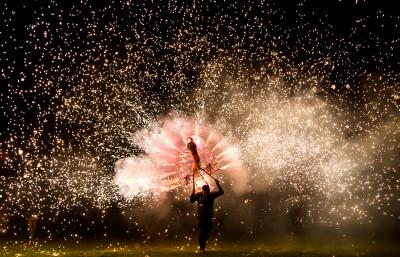 Mexico fireworks