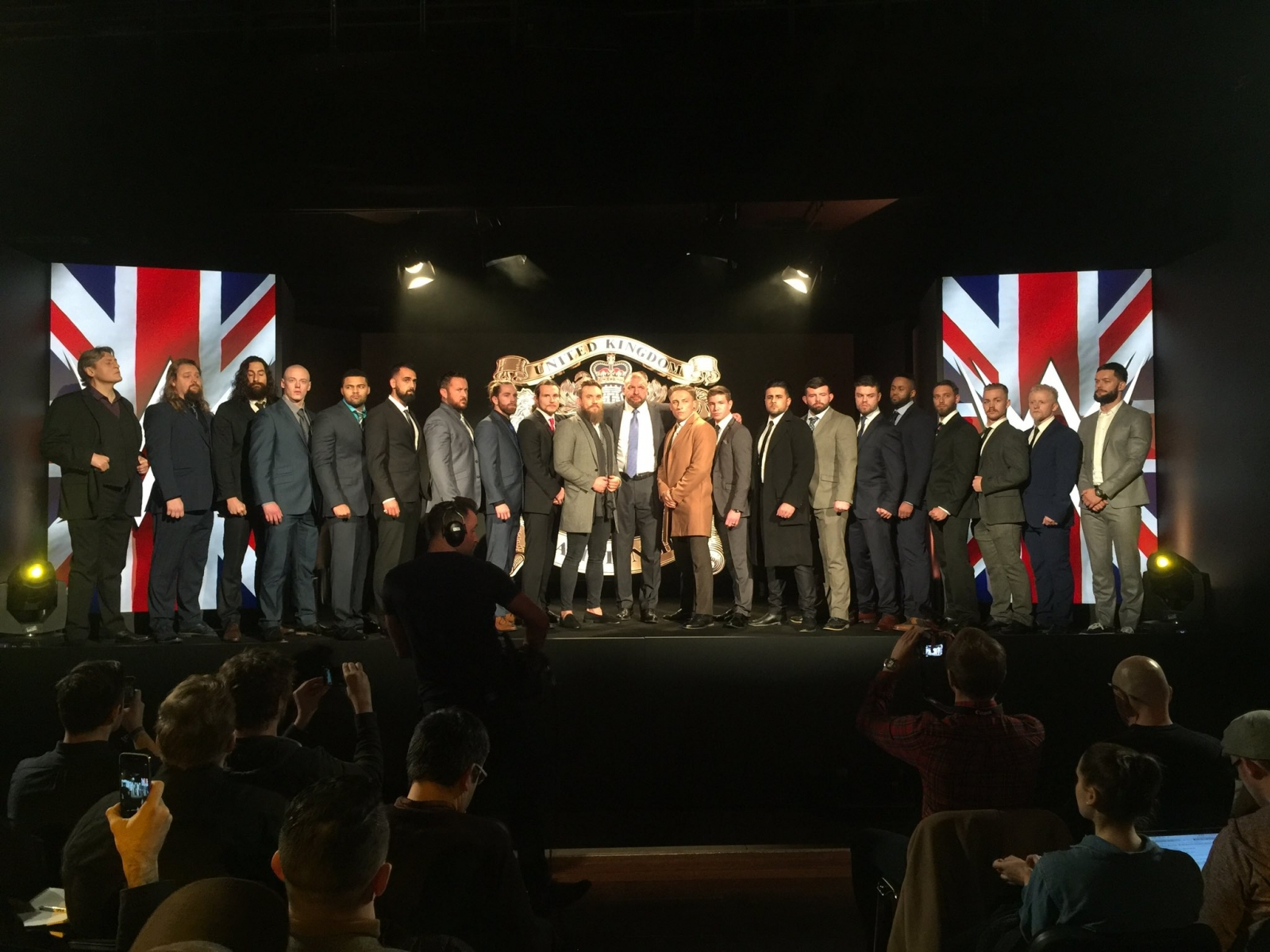 WWE UK launch