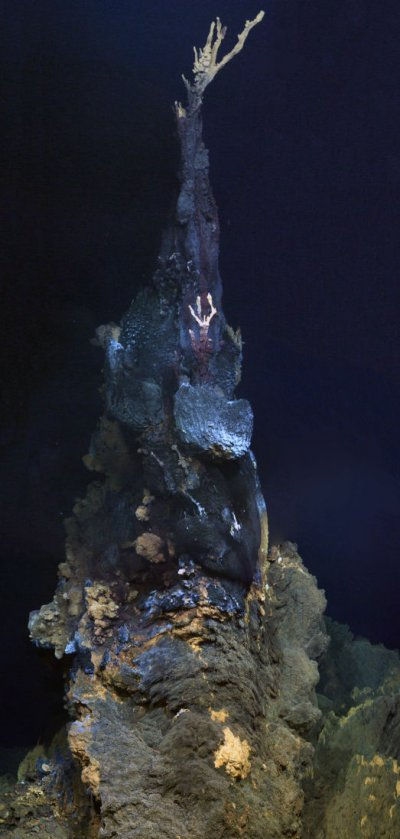 mineral chimney