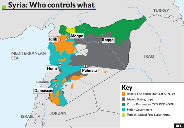Syria: Who controls what