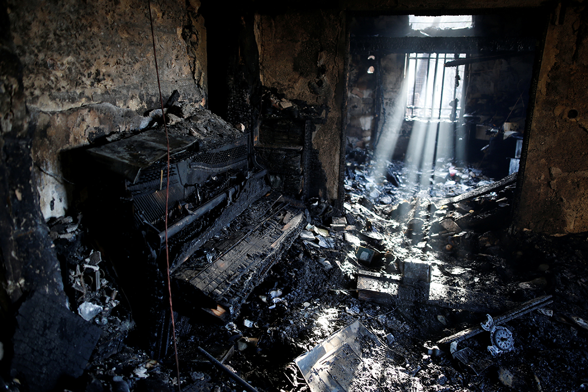 Haifa house fire