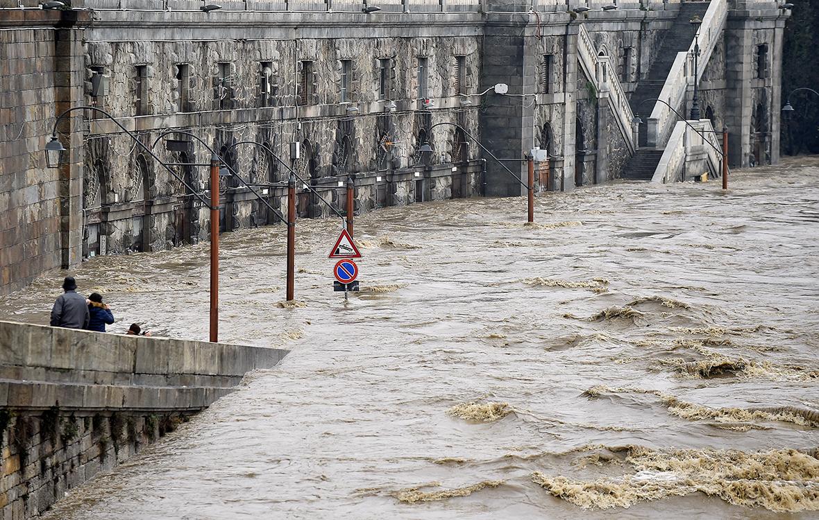 Turin floods