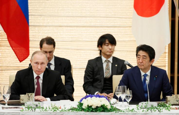 Abe and Putin