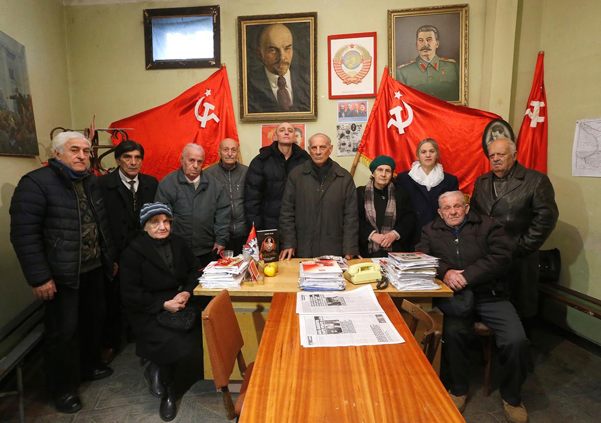 Josef Stalin Georgia