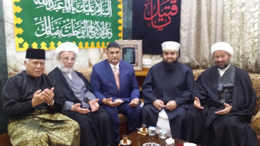 Muslim delegation to Iraq