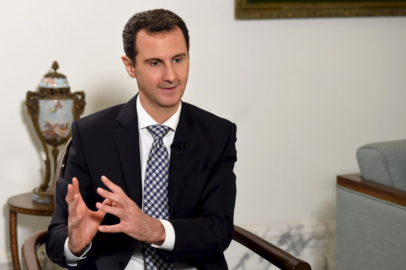 Syrian President Bashar al-Assad takes to Instagram to celebrate Aleppo victory - report