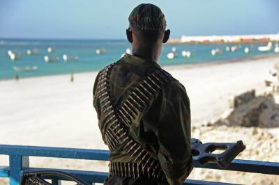 Mogadishu beachfront