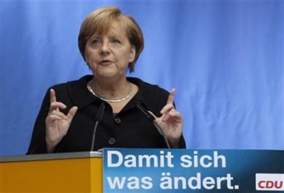 1. Angela Merkel  German Chancellor and head of the Christian Democratic Union CDU party