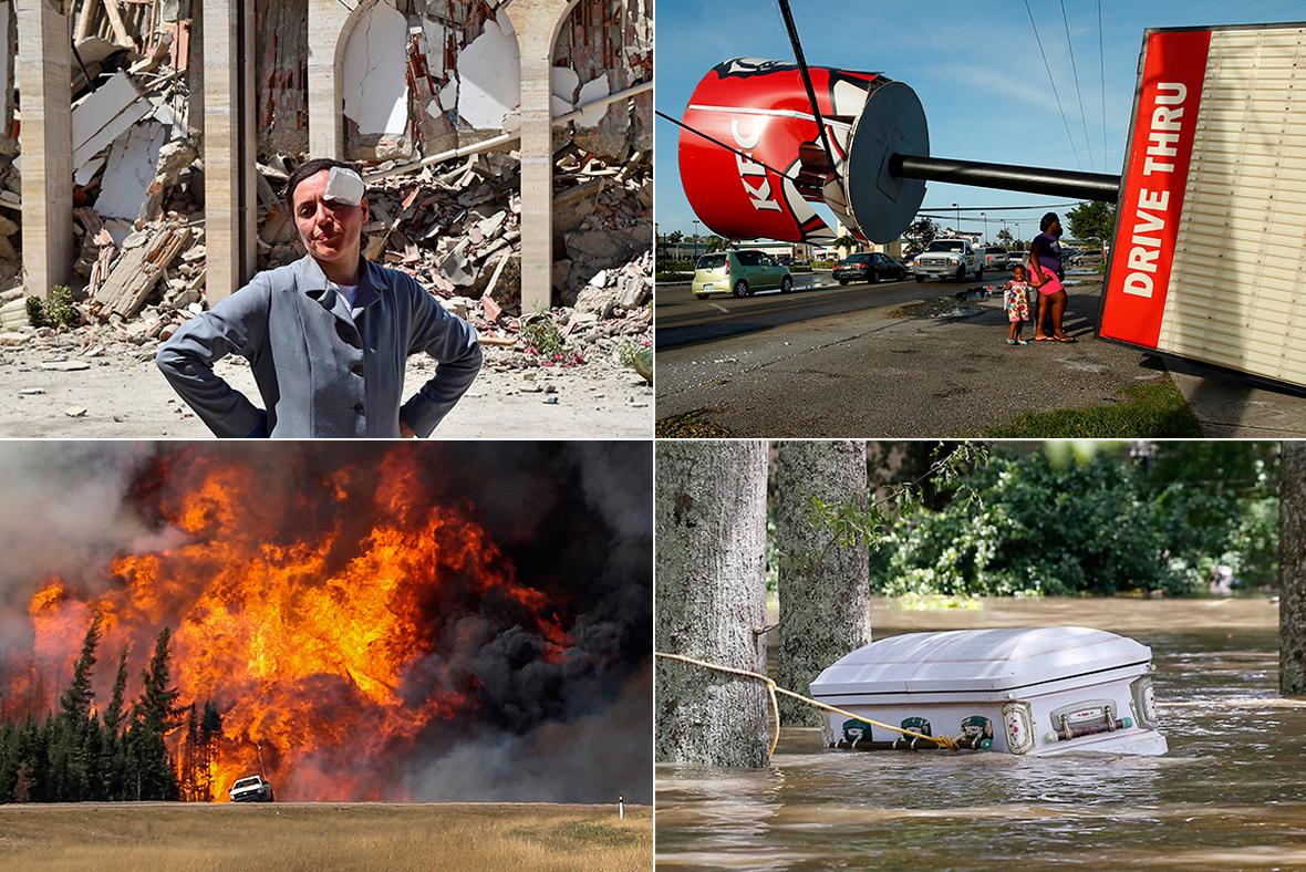 Natural disasters 2016