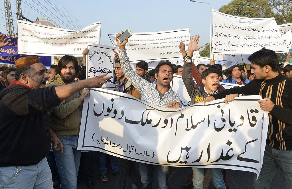 Anti-Ahmadi protest, Lahore