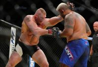 brock lesnar mark hunt