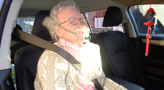 Mannequin, US 'woman' frozen to death