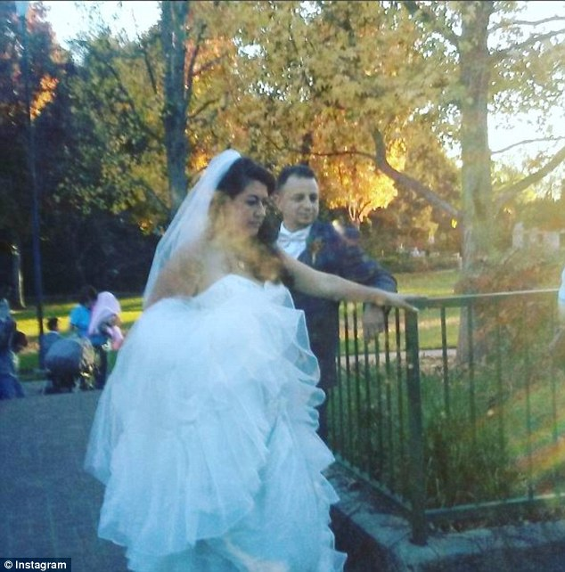 A wedding party ended in tragedy when a large tree fell on the group