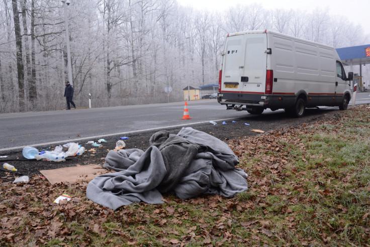 Croatia smuggler van