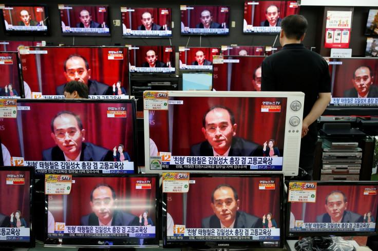 North Korea defector Thae Yong Ho