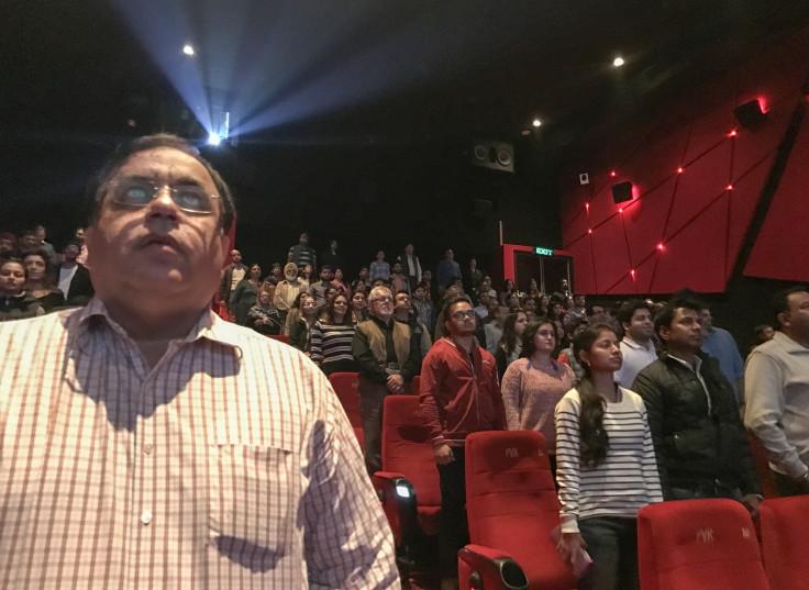 India national anthem at cinemas