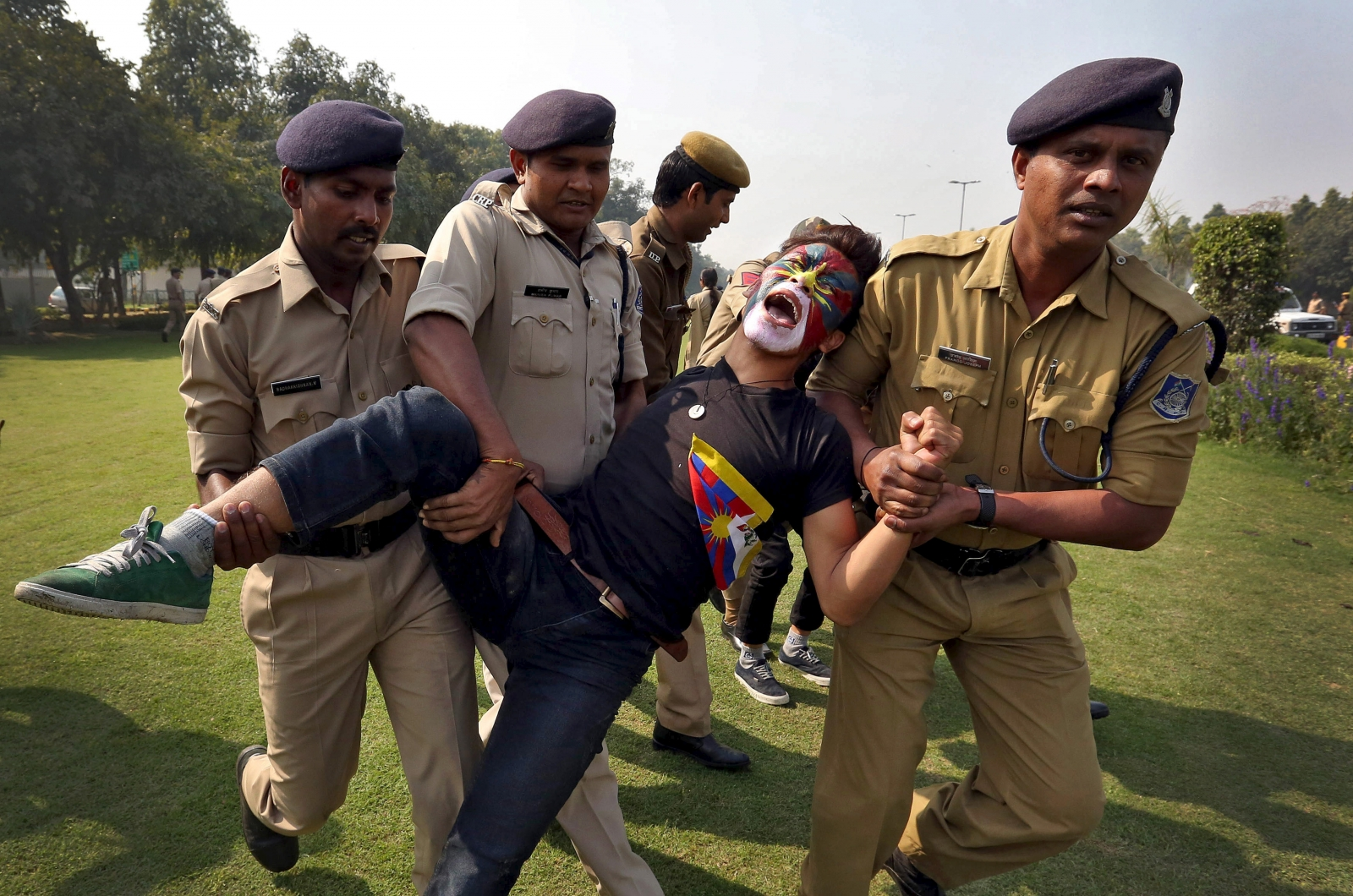 India police toture