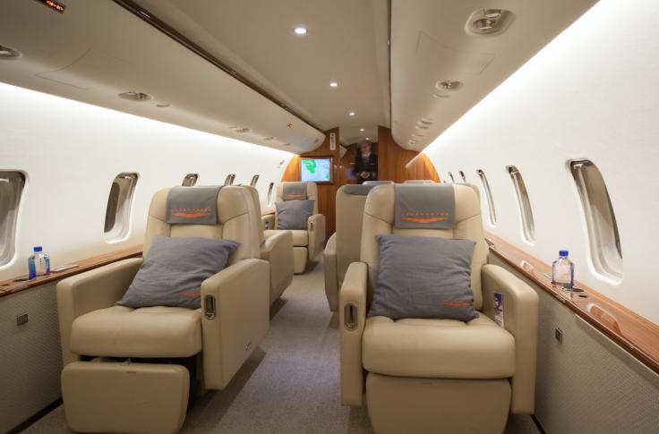 JetSmarter on-board experience