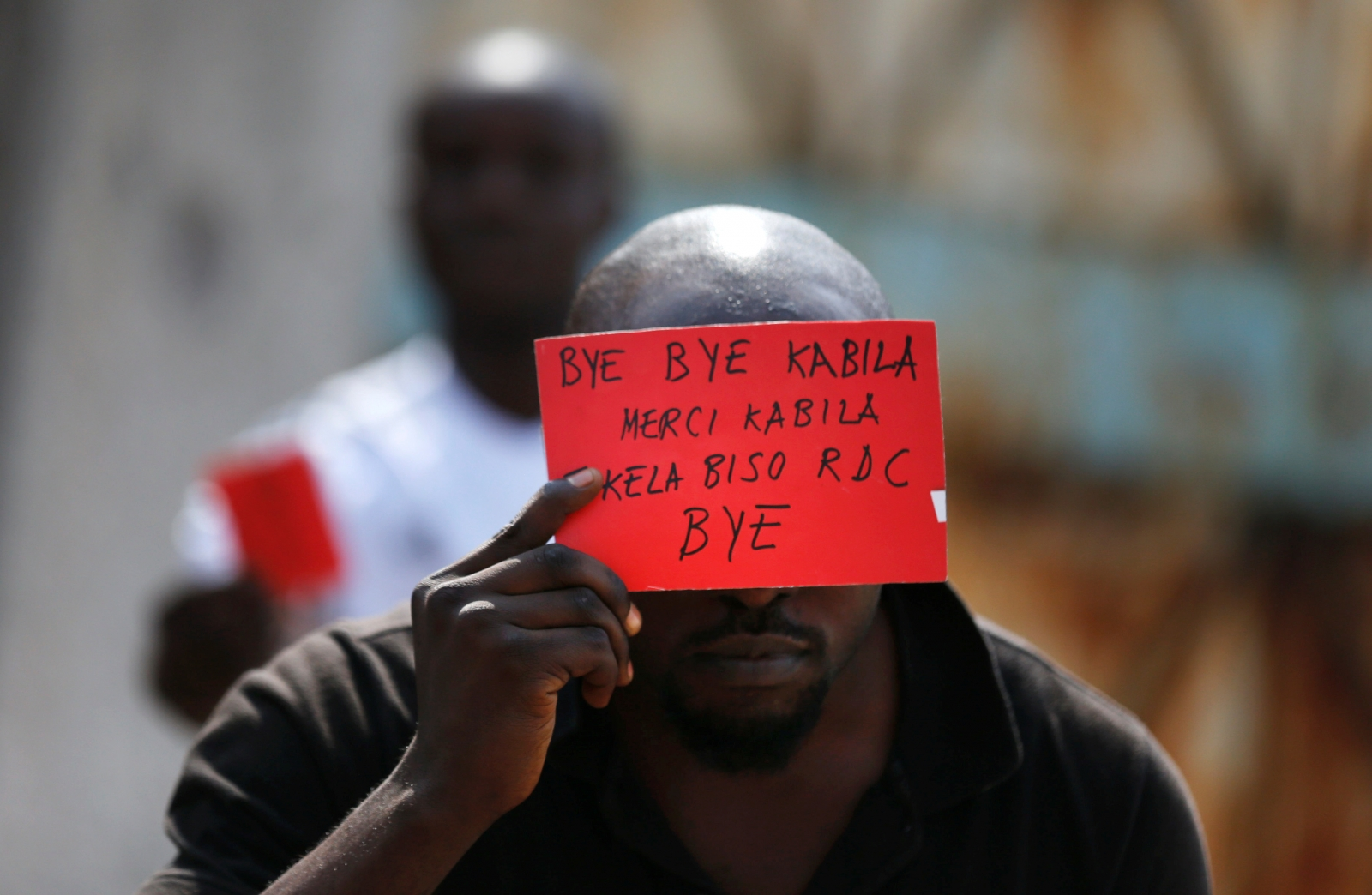 Kabila's red card