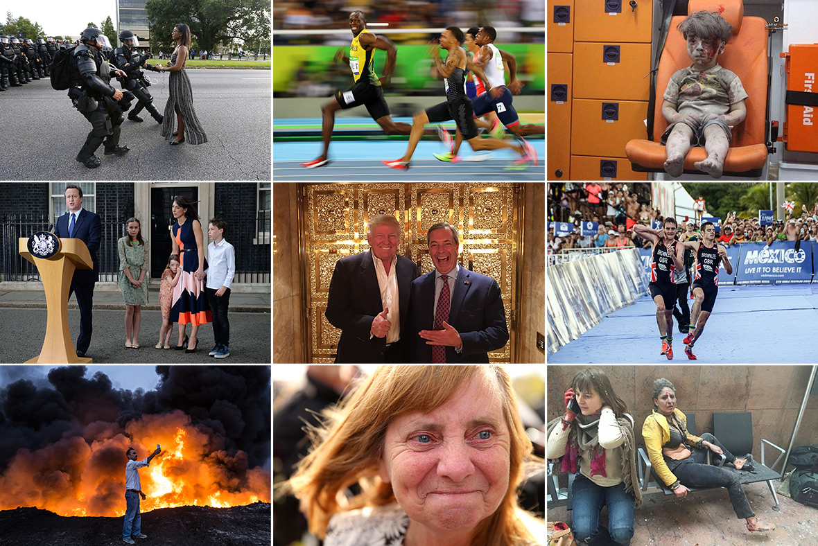 Most iconic photos of 2016