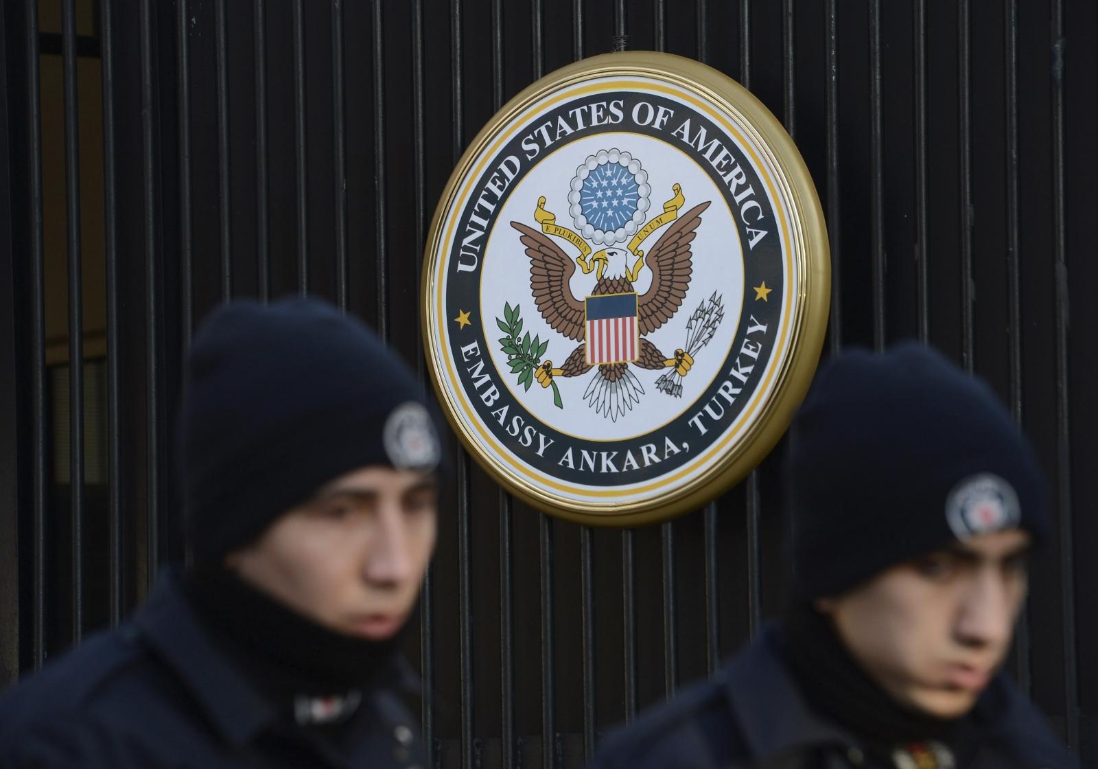 US embassy in Turkey shooting