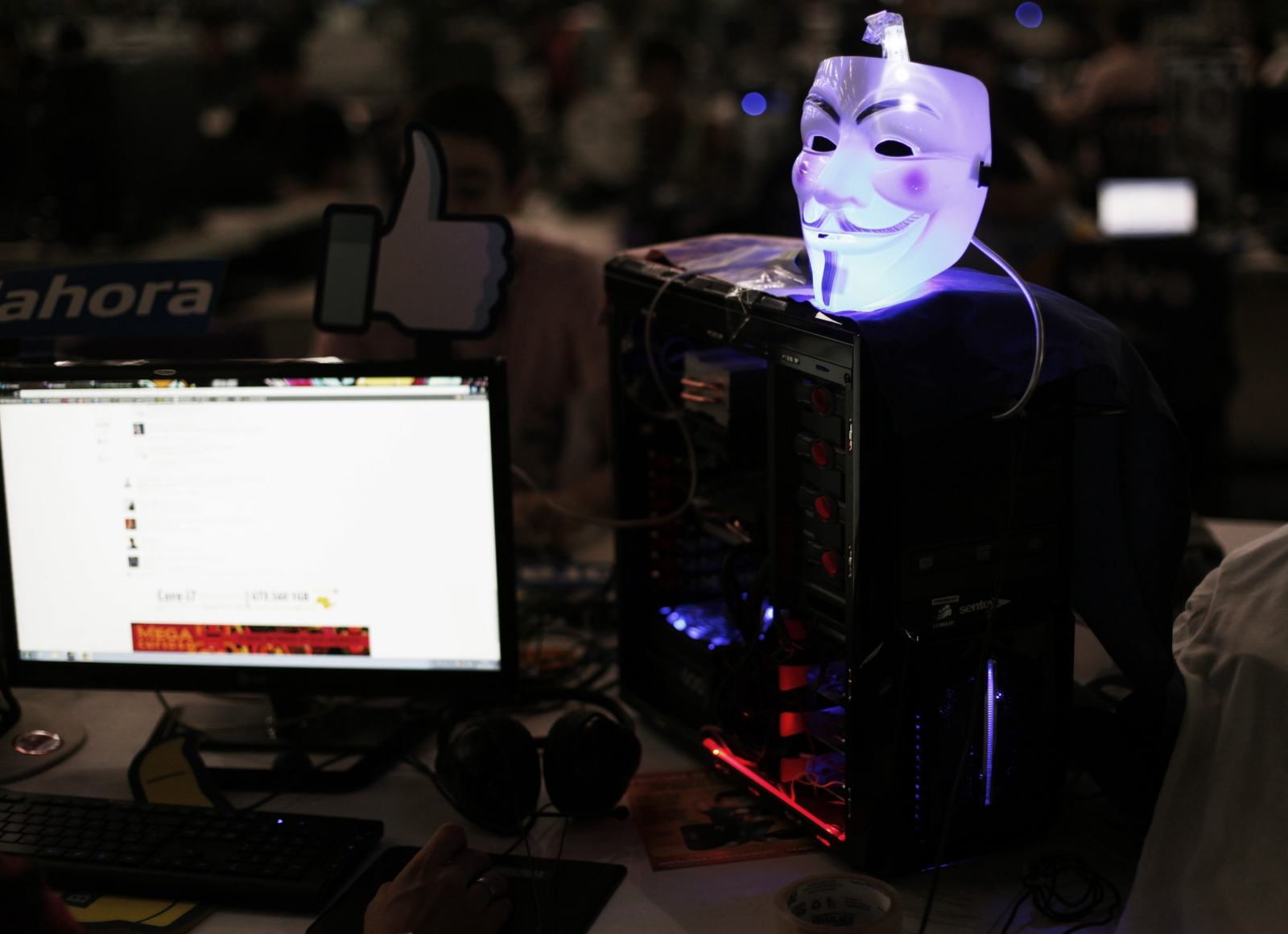 Anonymous hackers hit Thai government with DDoS attacks protesting restrictive Internet law