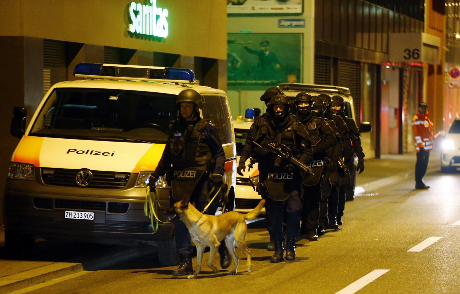 Zurich mosque attack