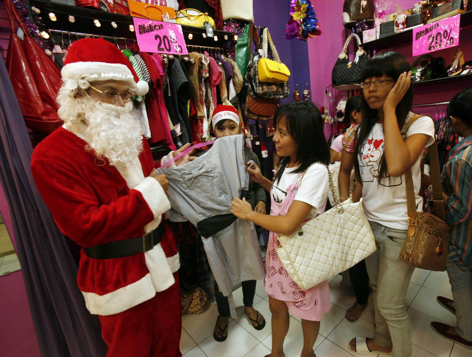 Santa hats fatwa Indonesia